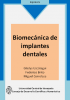 Cover for Biomecánica de implantes dentales
